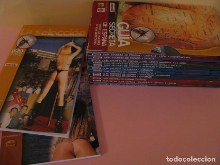 Coleccionismo de Revista Interviú: GUÍA SECRETA DE ESPAÑA. POR INTERVIU. TODOS LOS PLACERES EN 8000 DIRECCIONES. 14 LIBRETAS - Foto 4 - 157435386