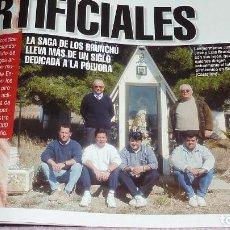 Coleccionismo de Revista Interviú: INTERVIU Nº 1194 FECHA 15-03-1999 SAGA BRUNCHÚ FUEGOS ARTIFICIALES. MIRA EL ÍNDICE / SUMARIO. Lote 158132918