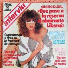 Coleccionismo de Revista Interviú: INTERVIÚ Nº 453. ELVIS, 50 AÑOS. RUDOLF HESS. Lote 158811242
