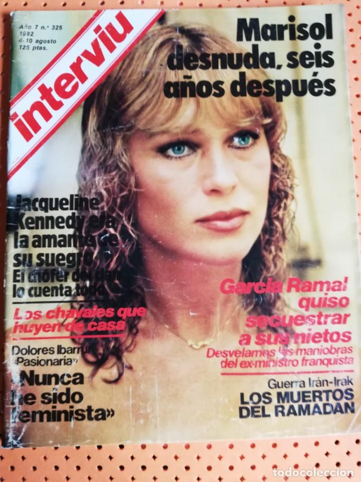 Interviú Nº 325 Marisol Portada Desnuda Seis Años Después