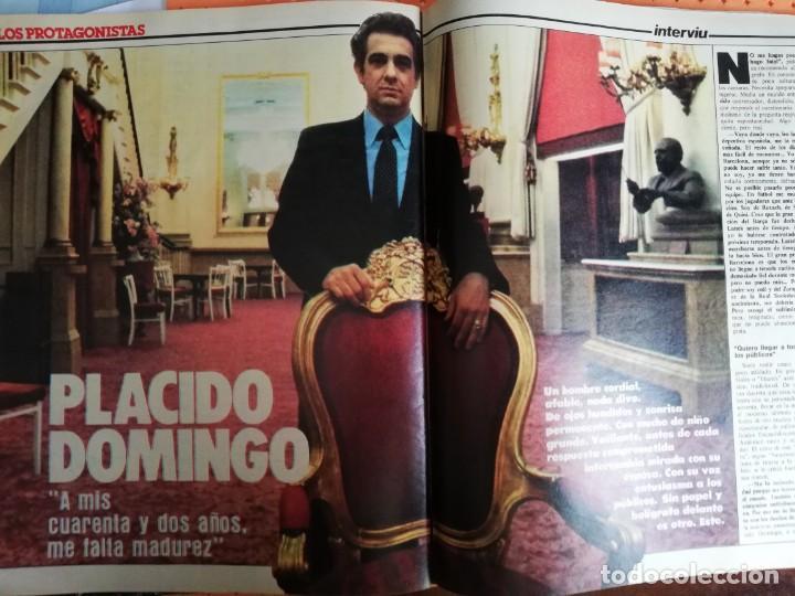 Coleccionismo de Revista Interviú: INTERVIÚ Nº 367. LA LOREN, 20 AÑOS MÁS JOVEN. BIANCA JAGGER. LAS LOLITAS ESPAÑOLAS - Foto 4 - 159381802
