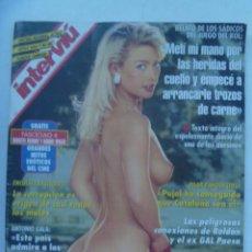 Coleccionismo de Revista Interviú: INTERVIU , JUNIO 1994: CRIMENES DEL ROL, RAHOLA, ANTONIO FLORES DESNUDO, GIBRALTAR, ETC. Lote 160186838