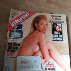 Coleccionismo de Revista Interviú - revista interviu 1191 * adriana sklenarikova y karembeu + lequio y mar flores * 58 - 160208878