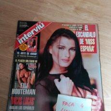 Coleccionismo de Revista Interviú: REVISTA INTERVIU 1141 * MARZO 1998 * FILI HOUTEMAN * MISS ESPAÑA 1998 * 58. Lote 160210218
