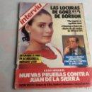 Coleccionismo de Revista Interviú: INTERVIU Nº 472 AÑO 1985 LAS LOCURAS DE GONZALO DE BORBON, MERCEDES LICE. Lote 160287310