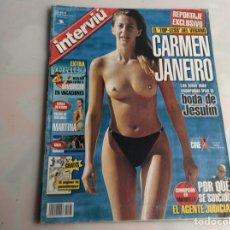 Coleccionismo de Revista Interviú: REVISTA INTERVIU.Nº 1370.- EL TOP LESS DE CARMEN JANEIRO, CORRUPCION EN MARBELLA. Lote 160287746