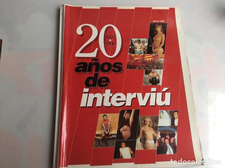 REVISTA INTERVIU - 20 AÑOS DE INTERVIU 1976 - 1996 (Coleccionismo - Revistas y Periódicos Modernos (a partir de 1.940) - Revista Interviú)