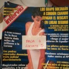 Coleccionismo de Revista Interviú: REVISTA INTERVIU 1020 * PARSIDA ABOUD MODELO Y PRESENTADORA DE TV * 61. Lote 160581366