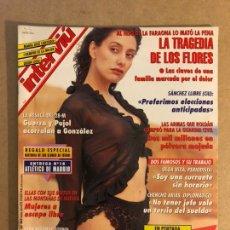 Coleccionismo de Revista Interviú: INTERVIU N° 997 (1995). LA TRAGEDIA DE LOS FLORES, GUERRA Y PUJOL VS GONZÁLEZ, ROLDÁN, SÁNCHEZ LLIBR. Lote 276926668