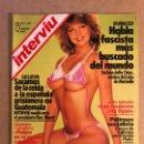 Coleccionismo de Revista Interviú: INTERVIU N° 351 (1983). ERNESTO GIMÉNEZ CABALLERO, PRIMER PUFO DEL PSOE, JULIO IGLESIAS, FASCISTA MA. Lote 160758700
