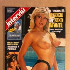 Coleccionismo de Revista Interviú: INTERVIU N° 1061 (1996). SAMANTHA FOX (POSTER CENTRAL DESPLEGABLE), TOP-LESS SILVIA PANTOJA Y MARÍA. Lote 160759060