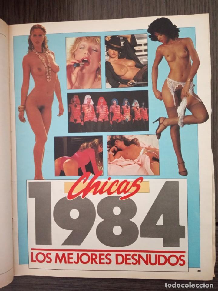 Coleccionismo de Revista Interviú: REVISTA INTERVIU Nº 451 AÑO 1985. ESPECIAL: LOS MEJORES DESNUDOS DE 1984. - Foto 2 - 161032918