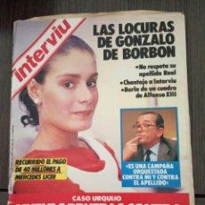 Coleccionismo de Revista Interviú - INTERVIU Nº 472 1985-LAS LOCURAS DE GONZALO DE BORBON/ MERCEDES LICE- DUQUE DE ALBA/CAYETANA - 161033126