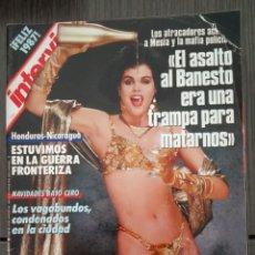 Coleccionismo de Revista Interviú: REVISTA INTERVIU Nº 555 DICIEMBRE 1986 LOS MEJORES DESNUDOS DEL AÑO. Lote 161033262