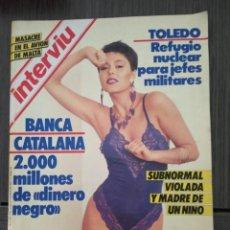 Coleccionismo de Revista Interviú: INTERVIÚ Nº 499 - AÑO 1985. VIOLETA CELA (PORTADA) DESNUDO TOTAL. Lote 161033462