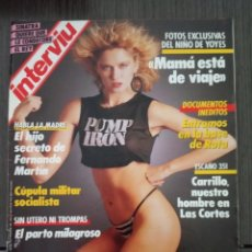 Coleccionismo de Revista Interviú: INTERVIÚ Nº 541. AÑO 1986. PARÍS, CIUDAD BOMBA. BARCELONA, OLÍMPICA. Lote 161033802
