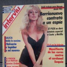 Coleccionismo de Revista Interviú: INTERVIÚ Nº 561. AÑO 1987 - MORGAN FAIRCHILD (PORTADA) FUI VIOLADA A LOS 14 AÑOS. Lote 161034134