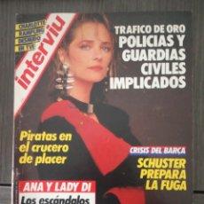 Coleccionismo de Revista Interviú: INTERVIÚ Nº 492 - AÑO 1985 - CHARLOTTE RAMPLING (PORTADA) DESNUDO EN TVE. Lote 161034286