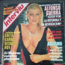 Coleccionismo de Revista Interviú: REVISTA INTERVIÚ Nº 434 - 5 SEPTIEMBRE 1984 - GRETA GARBO - ALFONSO GUERRA. Lote 161034654