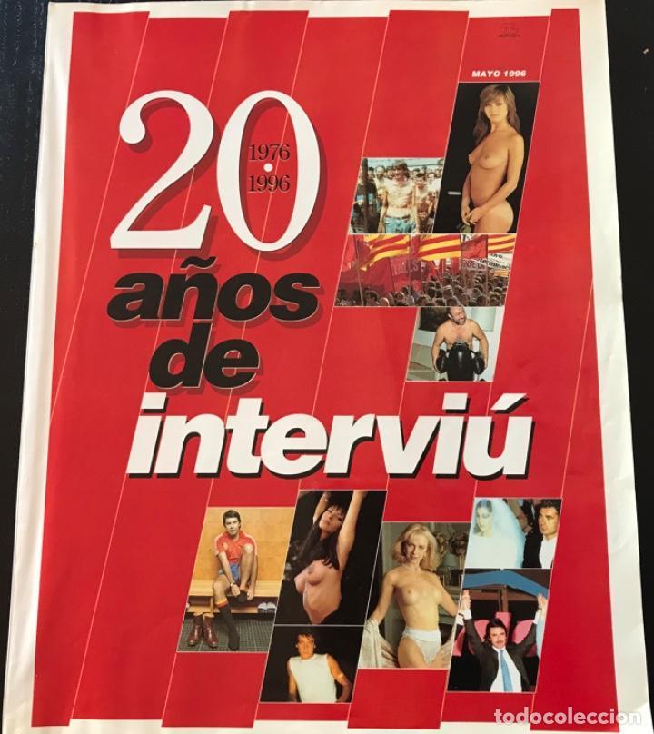 REVISTA 20 AÑOS DE INTERVIU 1976-1996 (Coleccionismo - Revistas y Periódicos Modernos (a partir de 1.940) - Revista Interviú)