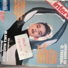 Collectionnisme de Magazine Interviú: #BLANCA MARSILLACH# PORTADA Y REPORTAJE / REVISTA INTERVIU 606 / DICIEMBRE 1987/ 64. Lote 162220894