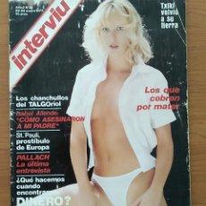 Coleccionismo de Revista Interviú: REVISTA INTERVIU N° 36 1977 JOSEP PALLACH, ISABEL ALLENDE, XAVIER CUGAT, . Lote 163832330