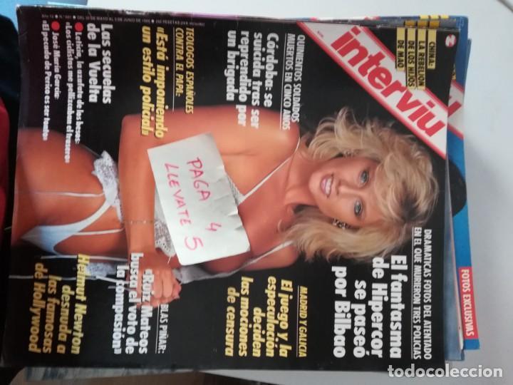 Revista Interviu 681 Helmut Newton Leticia Sabater 65