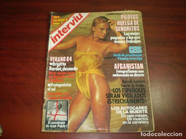 Revista Interviu Año 1984 N º 427 Brigitte B Sold Through
