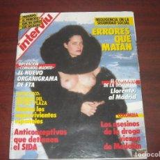 Coleccionismo de Revista Interviú: REVISTA INTERVIU AÑO 1987- Nº 558- ESCULTURAS DE JOHN DE ANDREA SOLO FALTA HABLAR. Lote 165243822