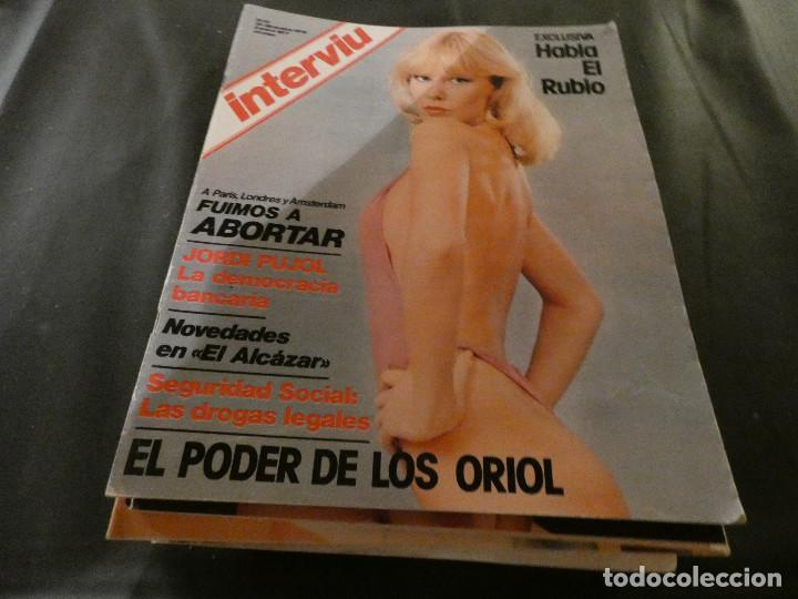 REVISTA INTERVIU NUM 33 (Coleccionismo - Revistas y Periódicos Modernos (a partir de 1.940) - Revista Interviú)