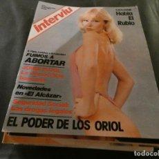 Coleccionismo de Revista Interviú: REVISTA INTERVIU NUM 33. Lote 165271770