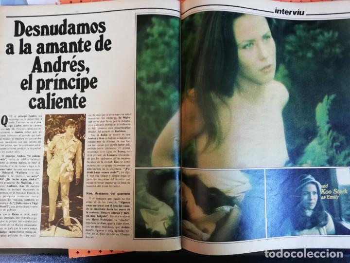 Coleccionismo de Revista Interviú: INTERVIÚ Nº 337. DESNUDAMOS A LA AMANTE DEL PRÍNCIPE ANDRÉS. GRACE KELLY. BO DEREK - Foto 6 - 165632606