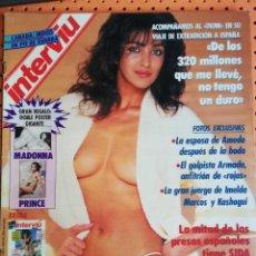 Coleccionismo de Revista Interviú: INTERVIÚ Nº 743. TODAS LAS NOVIAS DE PRINCE, DESNUDAS. MERCADONA. JESULÍN DE UBRIQUE. Lote 165645746