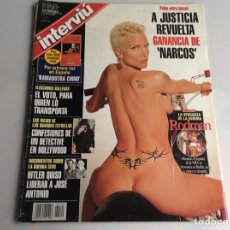 Coleccionismo de Revista Interviú: INTERVIU Nº 1120 / LORENA PEREZ, ANICKA RODMAN. Lote 165823494