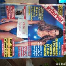 Coleccionismo de Revista Interviú: REVISTA INTERVIU 821 * CINDY CRAWFORD + NATALIA ESTRADA * 66. Lote 166525058