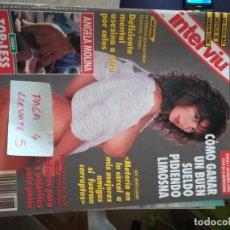 Coleccionismo de Revista Interviú: REVISTA INTERVIU 888 * ANGELA MOLINA * 66. Lote 166526182