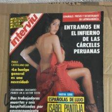 Coleccionismo de Revista Interviú: REVISTA INTERVIU Nº 839 JUNIO 1992 ISABEL PANTOJA CARMEN DEL SOL. Lote 167899110
