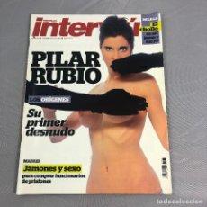 Coleccionismo de Revista Interviú: ANTIGUA REVISTA INTERVIU, 2012. Nº 1868, PILAR RUBIO, SU PRIMER DESNUDO.. Lote 167963104