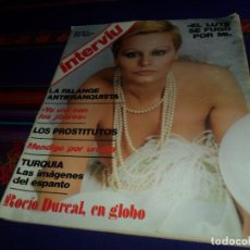 Coleccionismo de Revista Interviú: INTERVIÚ Nº 31. 16-12-76. ROCÍO DÚRCAL, FALANGE, EL LUTE SE FUGÓ POR MÍ. . Lote 168885820