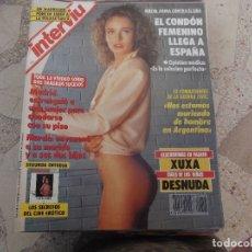 Coleccionismo de Revista Interviú: INTERVIU Nº 818, XUXA DESNUDA, SIN SUPLEMENTO, PETRA HANDLOVA,. Lote 169293796