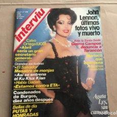 Interviu Nº 365 Cristina Marsillach Desnuda E Buy Magazine