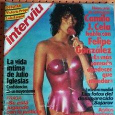 Coleccionismo de Revista Interviú: INTERVIÚ Nº 420. BLANCA MARSILLACH, BAJO EL SOL. JULIO IGLESIAS. RAPHAEL FELIPE GONZÁLEZ. Lote 170025736