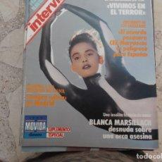 Collectionnisme de Magazine Interviú: INTERVIU Nº 606, BLANCA MARSILLACH, LAS VICTIMAS DE ETA, HABLA EL PRESIDENTE DE LOS SAHARAUIS. Lote 171575455
