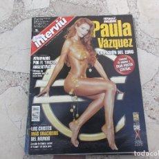Coleccionismo de Revista Interviú: INTERVIU Nº 1342,POSTER EUROPASION PAULA VAZQUEZ, CUENTOS DESNUDOS ROSITA,JUAN JOSE LUCAS. Lote 295025738