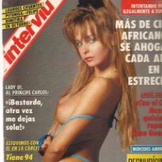 Coleccionismo de Revista Interviú: INTERVIU. Nº 843. MERCEDES AMBRÚS, DESNUDÍSIMA. 25 JUNIO 1992. (Z/28). Lote 171628199