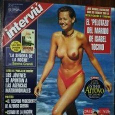 Coleccionismo de Revista Interviú: INTERVIÚ Nº 1103. ESTHER ARROYO (PORTADA). Lote 172302138