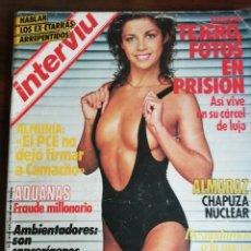 Coleccionismo de Revista Interviú: INTERVIÚ Nº 441. CRIMEN URQUIJO. DESNUDAMOS A LA NUEVA EMMANUELLE. ALMARAZ, CHAPUZA NUCLEAR. Lote 172855132