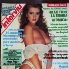 Coleccionismo de Revista Interviú: INTERVIÚ Nº 750. PALMAR DE TROYA. GUERRA DEL GOLFO. COMANDOS ITINERANTES ETA. Lote 173007628