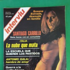 Coleccionismo de Revista Interviú: REVISTA INTERVIU. 1976. NÚMERO 13. SUSANA ESTRADA. Lote 173405433
