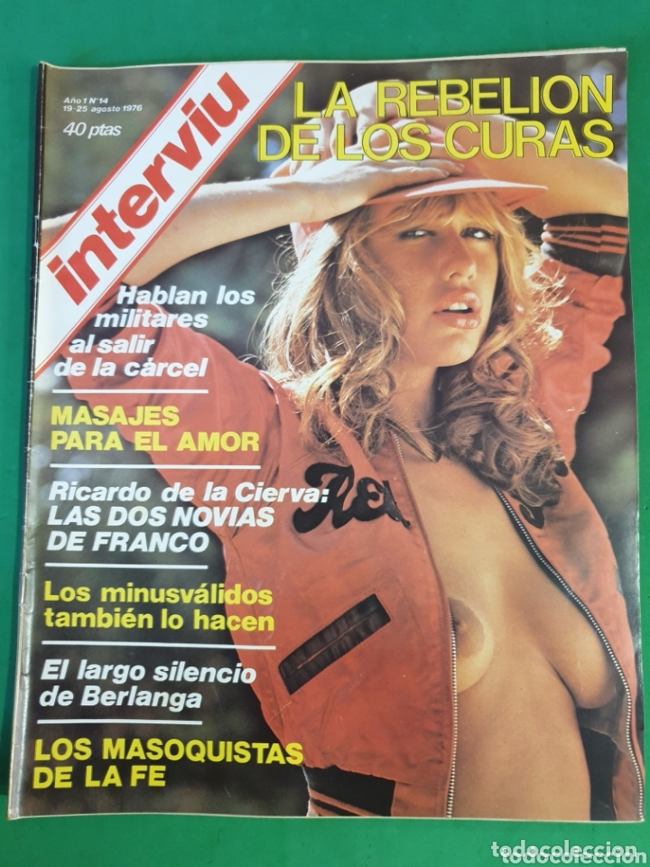 REVISTA INTERVIU. 1976. NÚMERO 14. LA REBELIÓN DE LOS CURAS. (Coleccionismo - Revistas y Periódicos Modernos (a partir de 1.940) - Revista Interviú)
